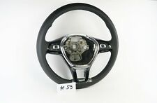 VOLKSWAGEN VW GOLF 7 PASSAT LEATHER STEERING WHEEL #59