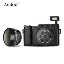 Andoer FULL HD 1080P 24MP 4X ZOOM Digital SLR Camera DV Video Camcorder A7 K7J3