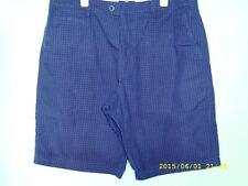 Cotton Blend Checked Regular Big & Tall Shorts for Men