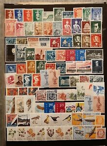 NORWAY  (2695) Nice Small Collection (MNH)