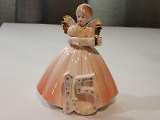 Vintage Josef Originals 15th Year 15 Year Old Angel Gift Present Figurine