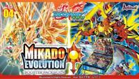Future Card Buddyfight BFE-H-BT04 Mikado Evolution Booster Box