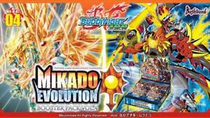 Future Card Buddyfight BFE-H-BT04 Mikado Evolution Booster Box
