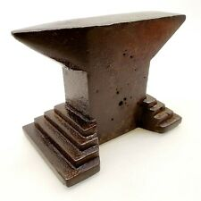 ANVIL BLACKSMITH Cast Iron Vintage Jewelers Bench Anvil Metal 1930's Hungary -