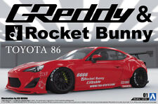 2012 Toyota 86 Greddy & Rocket Bunny Enkei Version 1:24 Model Kit Aoshima 050934