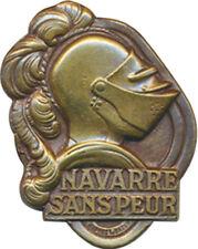 5° R.I, NAVARRE SANS PEUR, L Bazor, guilloché, Drago Paris en bas (7698)