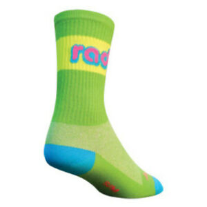 Sock Guy Rad crew socks green - 5-9