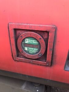 British Rail HST Mark3 Carriage Emergency Door Release