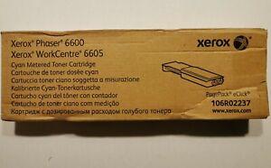 Xerox Phaser 6600 WC 6605 CYAN Metered Toner Printer Cartridge 106R02237 laser