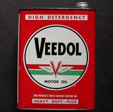 Bidon d'huile  VEEDOL
