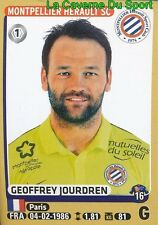 266 GEOFFREY JOURDREN # MONTPELLIER.HSC STICKER PANINI FOOT 2016
