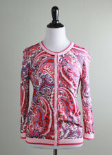 TALBOTS NWT $89 Cotton Stretch Classic Cardigan Sweater Top Size Small Petite
