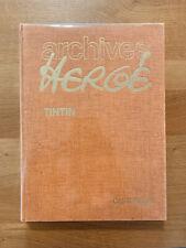 Archives Hergé Tome 3 Tintin ancienne édition 1979 sans jaquette Bon état.