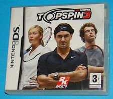 Top Spin 3 - Nintendo DS NDS - PAL