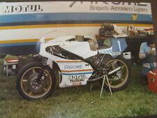 Photo Yamaha TZ350 1978 #1 Takazumi Katayama (JAP) Raalte Races Paddock