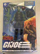 "G.I. joe, classified series, 6"" beach head, cobra island, action figure"