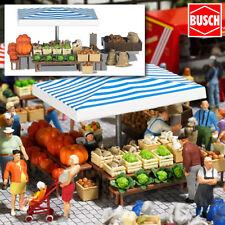"""BUSCH 1070 H0 Marktstand """"Gemüse"""" ++ NEU & OVP ++"""