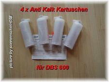 2 x 2 Anti Kalk Kartuschen Katusche Entkalker DBS 600 700 800 Patrone QUIGG Aldi