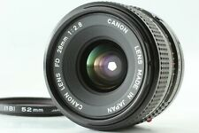【Excellent+3】 Canon New FD 28mm F/2.8 Wide Angle MF Lens From Japan #674