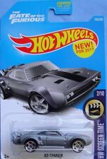 """NEW RELEASE 2017 Hot Wheels FAST AND FURIOUS V8 1968 DODGE """"ICE CHARGER"""" - mint"""