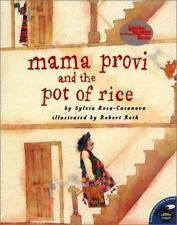 Mama Provi And The Pot Of Rice (Reading Rainbow Books)-ExLibrary