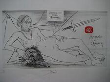 TREMOIS PIERRE YVES GRAVURE SIGNÉE AU CRAYON NUM/175 HANDSIGNED NUMB ETCHING