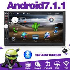 Android7.1 2DIN 4Core 2GBRAM+16GB ROM GPS Autoradio WIFI/BT/RDS/AUX/SWC/USB/DAB+