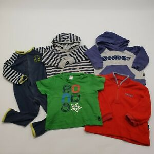 Bonds Baby Boys Size 2 Lot of 5 Hoodies Jumpers Shirt One-Piece Suit
