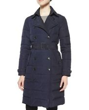 Burberry Brit coat Allerdale Mid-length Double Breasted Down Navy Parka