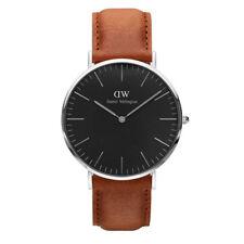 Relojes de pulsera 24 horas de acero inoxidable para hombre
