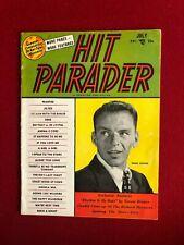 "1954, Frank Sinatra, ""Hit Parader"" Magazine (Scarce / Vintage)"