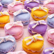 Miniature Dollhouse Heart Macaroon Re-ment Garden Fairy Bonsai Decor Craft 1pc ♫