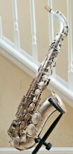 King Zephyr Silver Alto Saxophone Fresh Repad