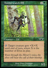 Magic the Gathering MTG 1x Timberwatch Elf x1 LP/LP+ x 1 Legions  7x Available