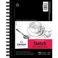 "Canson Artist Series Universal Sketch Pads - 5-1/2 x 8-1/2""  - 5-1/2 X 8-1/2"""
