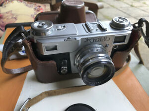 Kiev 4 A M Russian Rangefinder 35mm Camera RELISTED