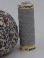 GUTERMANN -  Sew All Thread -100% Polyester- 100m - GREY- #38