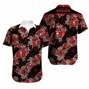 Tampa Bay Buccaneers Hawaiian Shirts Summer Beach Holiday Short Sleeve T Shirt