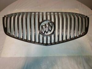 08-11 BUICK LUCERNE UPPER CENTER MOUNTED GRILLE GRILL CHROME 25803735