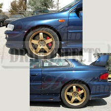 FOR 93-01 IMPREZA B22 GC8 AIT FRONT + REAR FENDER KIT BODY PANEL ADD-ON COMBO