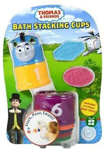 Thomas & Friends Bath Stacking Cups Multicoloured With 2 Bath Tints 3-4year