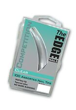 The EDGE Competition Clear 100 Assorted Nail Tips (Official Edge Stockist)