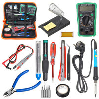 Professional Electric 60W Soldering Iron Multimeter Adjustable Temperature Kit