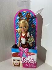 KELLY Barbie Doll Holiday Reindeer With Antlers Exclusive 2010 NEW