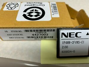 NEC 1100112 SL1100 IP4WW-CFVMS-C1 CF 2 Ports Voice Mail Card | New