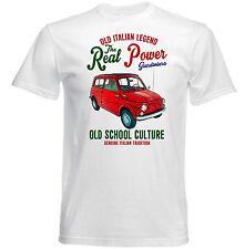 VINTAGE italiana di automobili FIAT 500 GIARDINIERA 1-Nuovo T-shirt di Cotone