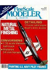 FINE SCALE MODELER MAGAZINE - January 1991