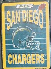 NFL Playing Cards, San Diego Chargers, New
