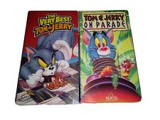 The Very Best Of Tom & Jerry / 50th Birthday Classics 2 VHS Tape