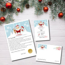 "Personalised Santa Christmas ""Nice"" List Letter & Certificate 2018 From Santa"